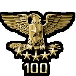 Colonel Rank 100