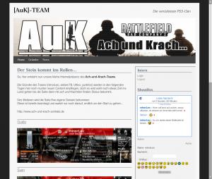 [AuK]-TEAM _ Der verrückteste PS3-Clan